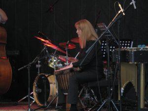 Julie Percussion Bingen Swingt International Jazz Festival
