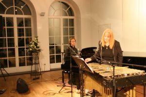 Julie and Gernot Meisterkonzert duo Heine vertont