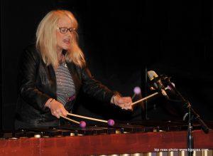 julie marimba and singingBahia KoSA Percussion Camp Festival